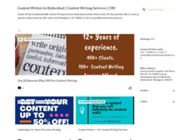 Web content writers hyderabad