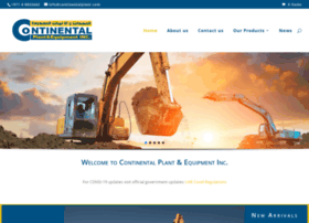 Continentalplant.com thumbnail