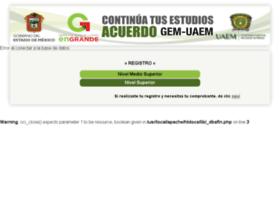 Continuatusestudios.uaemex.mx thumbnail