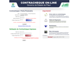 Contracheque.pi.gov.br thumbnail