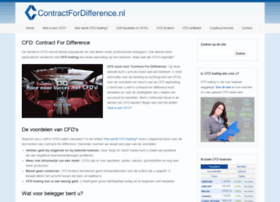 Contractfordifference.nl thumbnail