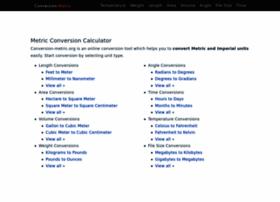 Conversion-metric.org thumbnail