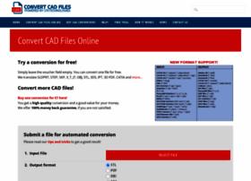 convertcadfiles com at WI  Convert CAD files online, STP