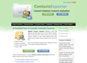 Convertoutlookcontacts.com thumbnail