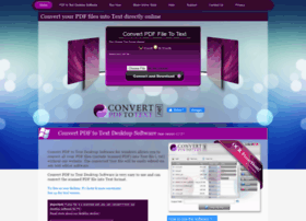 Convertpdftotext.net thumbnail