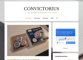 Convictorius.de thumbnail