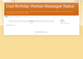 Coolbirthdaywishesmessages.blogspot.in thumbnail