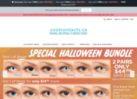 Coolcontacts.ca thumbnail
