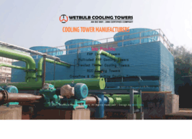 Coolingtowermanufacturers.in thumbnail