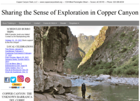 Coppercanyontrails.org thumbnail