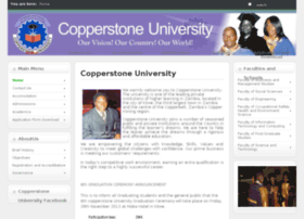 Copperstone.ac.zm thumbnail