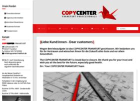 Copycenter-frankfurt.de thumbnail