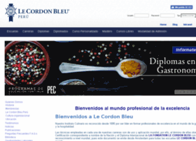 Cordonbleuperu.edu.pe thumbnail