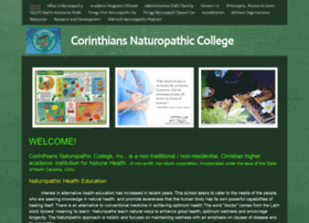 Corinthiannaturopathic-edu.org thumbnail