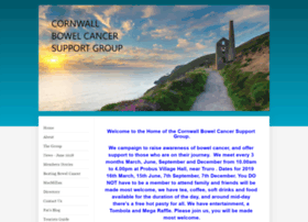 Cornwall-bowel-cancer-support-group.co.uk thumbnail