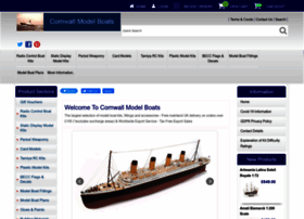 cornwallmodelboats co uk at WI  Cornwall Model Boats