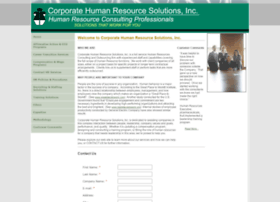 Corporatehrsolutions.net thumbnail