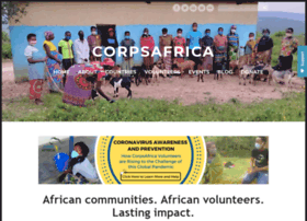 Corpsafrica.org thumbnail