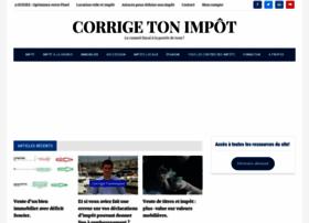 Corrigetonimpot.fr thumbnail