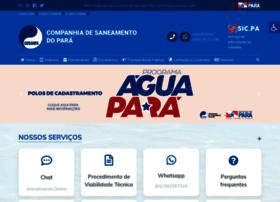Cosanpa.pa.gov.br thumbnail
