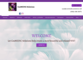 Cosmedicsolutions.net thumbnail