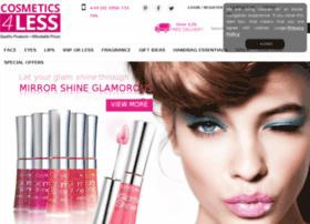 Cosmetics4less.net thumbnail