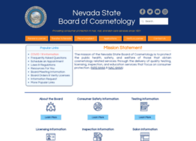 Cosmetology.nv.gov thumbnail