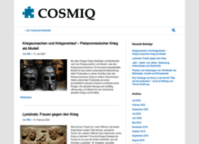 Cosmiq.de thumbnail