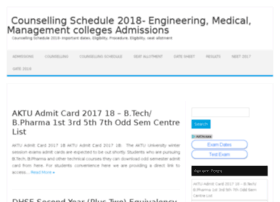 Counsellingschedule.co.in thumbnail