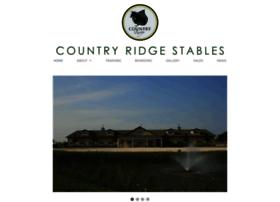 Countryridgestables.com thumbnail