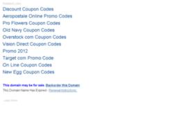 Couponcodes2012.info thumbnail