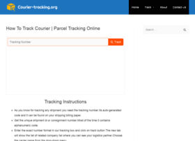 Courier-tracking.org thumbnail
