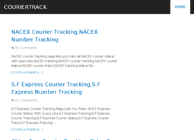 Couriertrack.org thumbnail