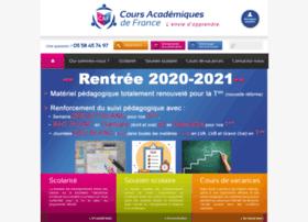 Coursacademiques.fr thumbnail