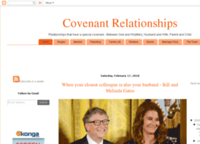 Covenantrelationships.org thumbnail