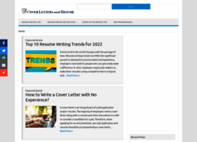 Coverlettersandresume.com thumbnail