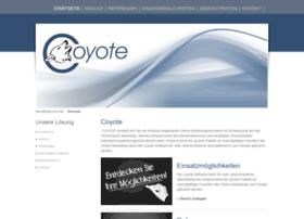 Coyote-software.de thumbnail