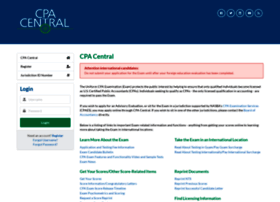 cpacentral nasba org at Website Informer  Welcome  Visit Cpacentral