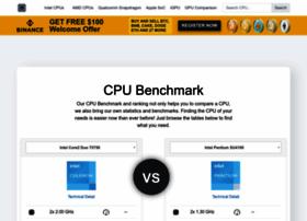 Cpu-benchmark.org thumbnail