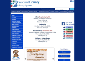 Crawfordcountylib.org thumbnail