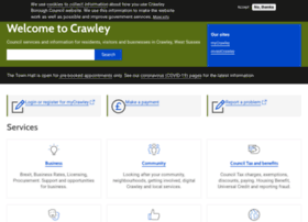 Crawley.gov.uk thumbnail