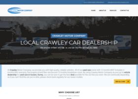 Crawleymotorcompany.co.uk thumbnail