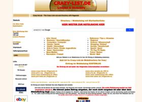 Crazy-list.de thumbnail