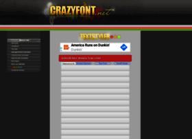 Crazyfont.net thumbnail