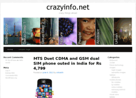 Crazyinfo.net thumbnail