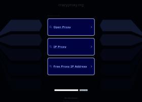 Crazyproxy.org thumbnail