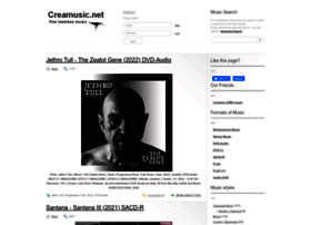 Creamusic.net thumbnail