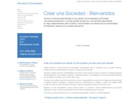Crearunasociedad.com.ar thumbnail