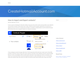 how to create a hotmail com account in the uk