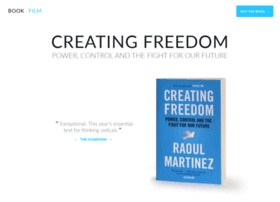 Creatingfreedom.info thumbnail